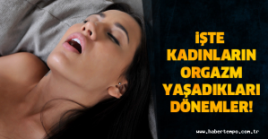 İŞTE KADINLARIN ORG*ZM YAŞADIKLARI DÖNEMLER!! Çok Şaşıracaksınız!!