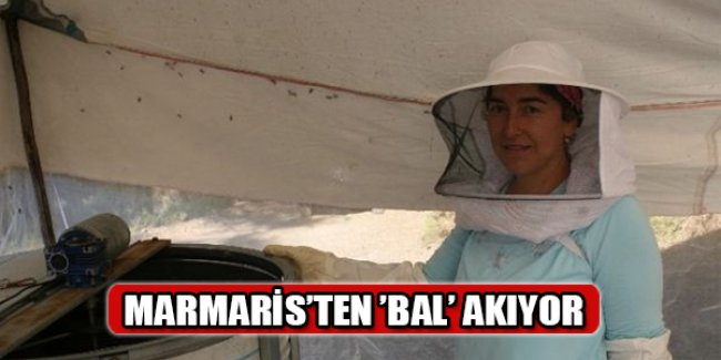 Marmaris'ten 'Bal' Akıyor