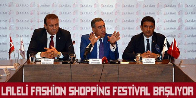 Laleli Fashion Shopping Festival başlıyor
