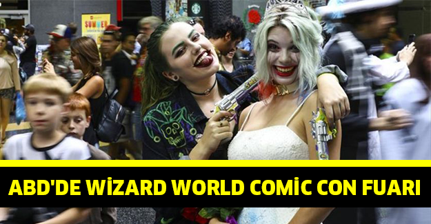 ABD'de Wizard World Comic Con Fuarı