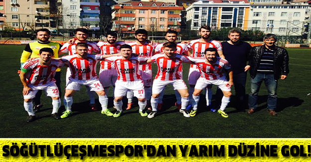 SÖĞÜTLÜÇEŞMESPOR'DAN YARIM DÜZİNE GOL!