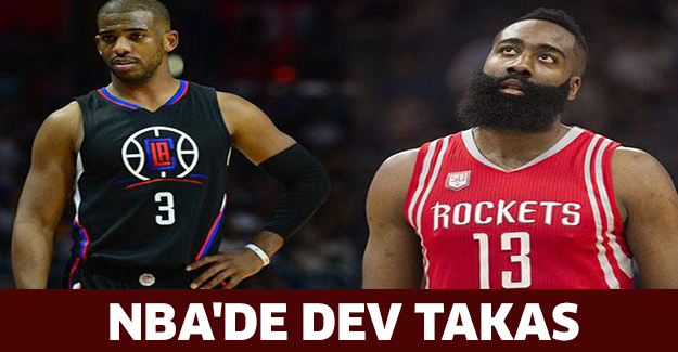 NBA'de dev takas