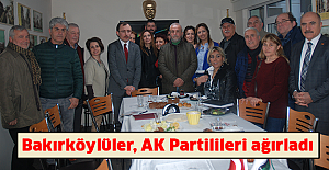 bBakırköylüler, AK Partilileri ağırladı/b